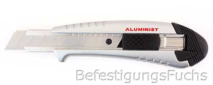 1 Tajima Premium Cuttermesser Aluminist 18mm