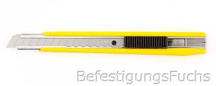1 Tajima Premium Cuttermesser 9mm mit Clip
