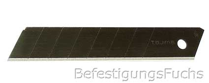 Premium TAJIMA RAZAR Black Abbrechklingen  18mm
