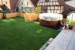 Gartenzaun mit integriertem Hochbeet von Herrn Krumbach (1/2)