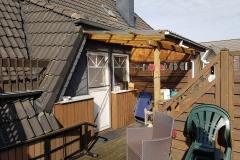 Die Dachterrasse von Herrn Bandorski 6/9 - vorher