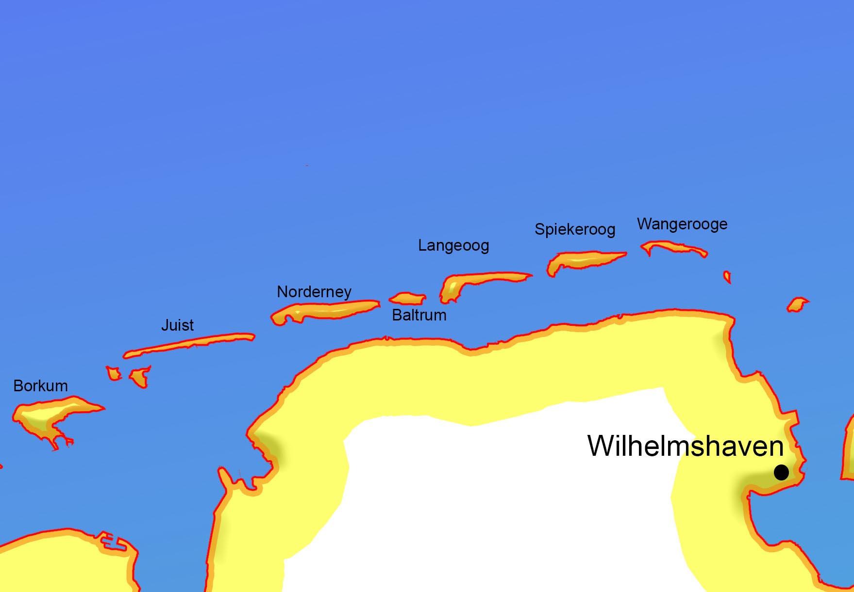Nordseeküste Friesische Inseln