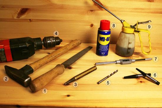 schraube abgerissen oder rundgedreht kein problem der heimwerker handwerker blog vom. Black Bedroom Furniture Sets. Home Design Ideas