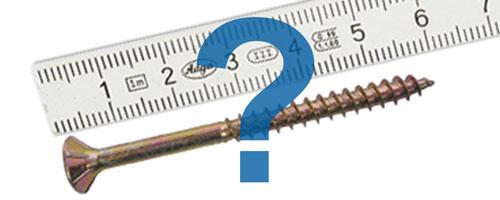 Die Schraube – Teil 1: Schrauben richtig messen
