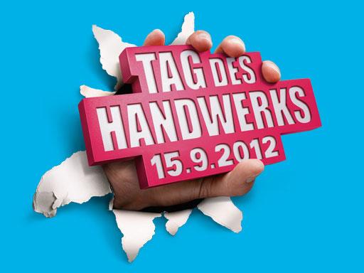 Tag des Handwerks Logo in blau