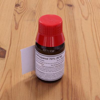 Isopropanol oder auch 2-Propanol