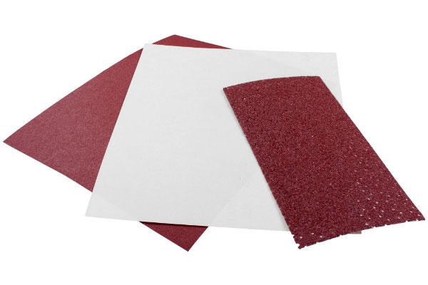 Verschiedene Schleifpapiere
