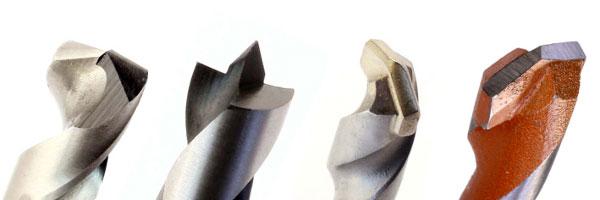 Spitzen von Metall-, Holz-, Stein-, Universalbohrer