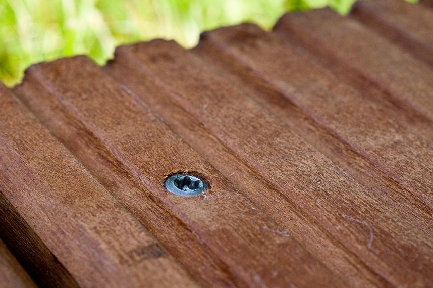 Wie Schraubenanzahl für Holzterrassen berechnen?