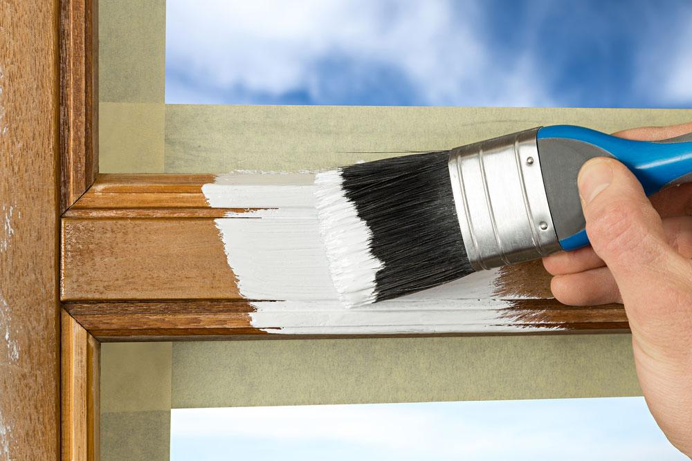 fenster renovieren: teil 2 - streichen - der heimwerker / handwerker, Design ideen