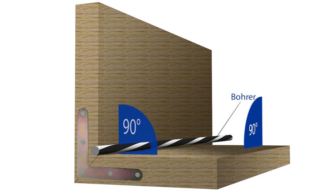 perfekt gerade bohren ohne bohrst nder der heimwerker handwerker blog vom befestigungsfuchs. Black Bedroom Furniture Sets. Home Design Ideas