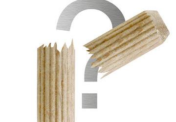 Holzdübel abgebrochen – was tun?