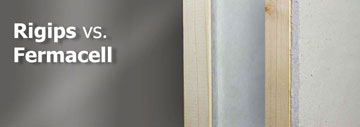Rigips vs. Fermacell – Bauplatten im Vergleich