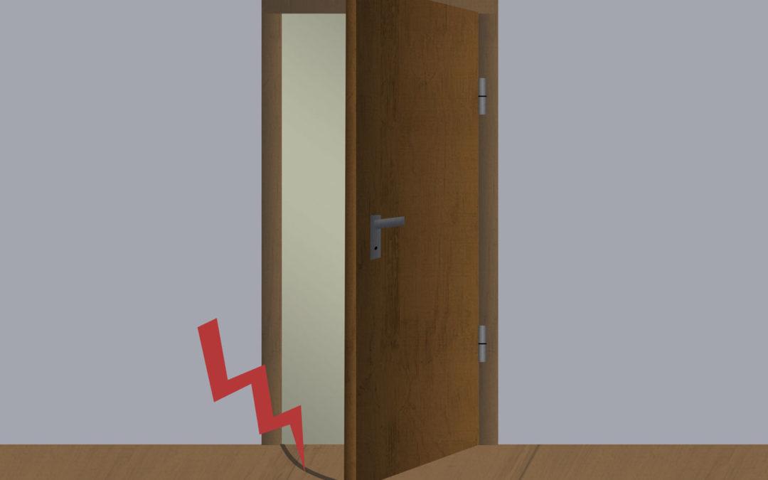Tür schleift – Was tun?