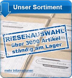 Banner neue Produkte von DER Fuchs GmbH