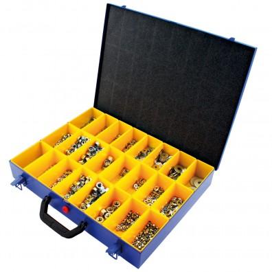 1775 tlg Muttern U-Scheiben Sortiment DIN 934,985,125,9021 verzinkt M4-M12