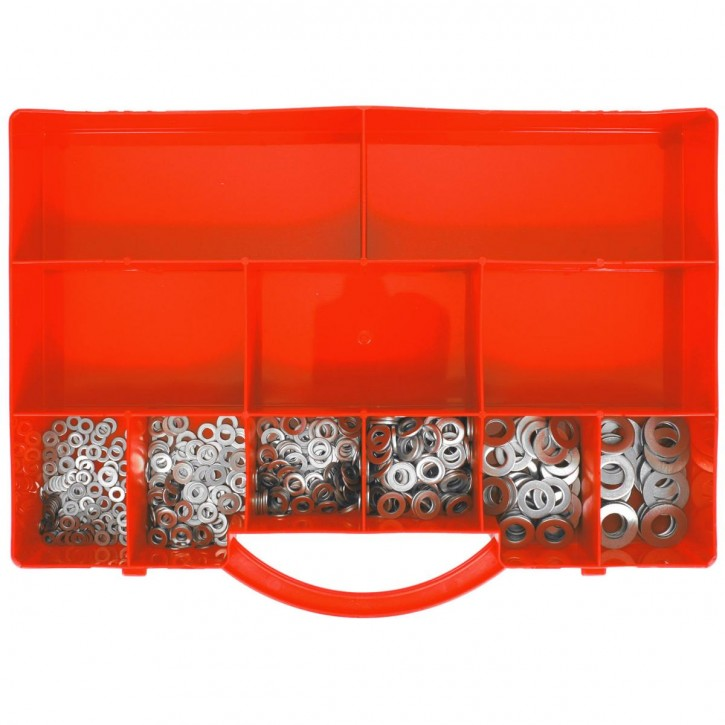460 tlg Unterlegscheiben Sortiment DIN 125 Edelstahl A2 Form A M3-M10