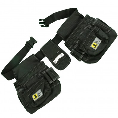 1 Allit Premium Werkzeuggürtel McPlus Belt 122-25, schwarz mit 25 Fächern