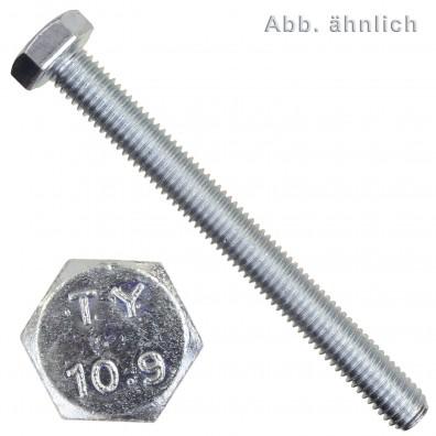 100 Sechskantschrauben M12 x 35 mm - SW 19 - verzinkt 10.9 - DIN 933