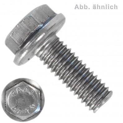 Sechskantschrauben mit Flansch - DIN 6921 - Edelstahl A2