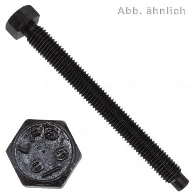1 Sechskantschraube M24 x 60 mm - DIN 561 - mit Gewindeauslauf - 8.8 blank