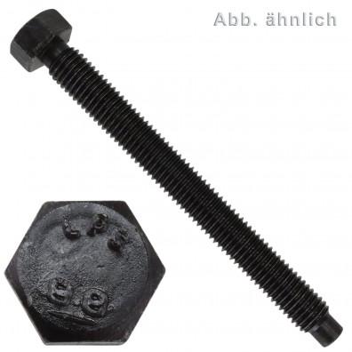 25 Sechskantschrauben M16 x 50 mm - DIN 561 - mit Rille - 8.8 blank