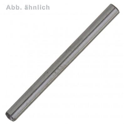 100 Zylinderstifte 6 x 12 mm - DIN 6325 - gehärtet - blank