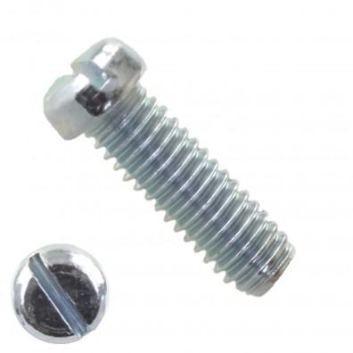 Flachkopfschrauben DIN 920 - galvanisch verzinkt - Schlitz