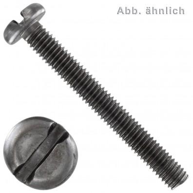 Flachkopfschrauben DIN 85 - Schlitz