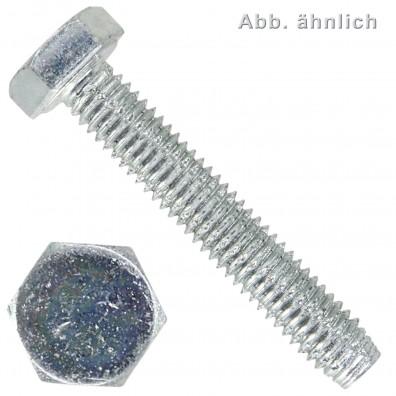 Sechskant-Schneidschrauben - DIN 7513 Form A - verzinkt