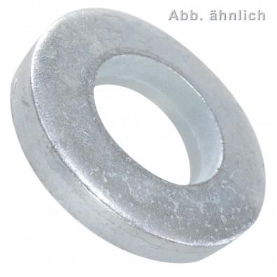Scheiben für Schrauben mit schweren Spannstiften DIN 7349 - 100HV - verzinkt