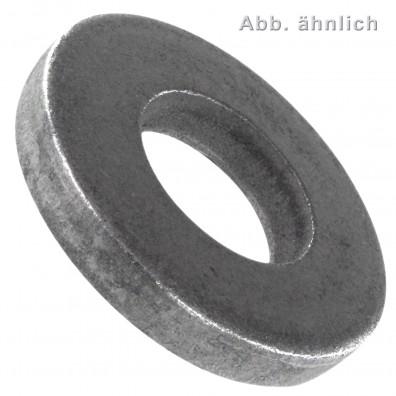 Scheiben für Schrauben mit schweren Spannstiften DIN 7349 - 100HV - blank