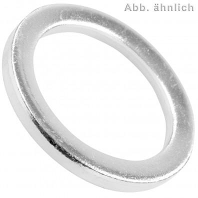 Scheiben für Bolzen - DIN 1440 - verzinkt - Ausführung mittel