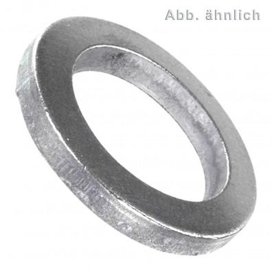 100 Scheiben für M25 Bolzen - DIN 1441 - Stahl