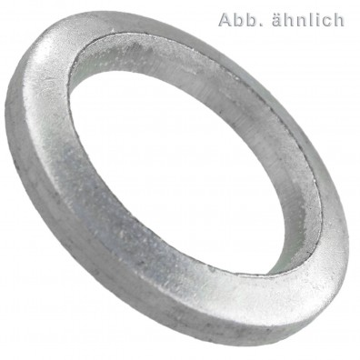 Scheiben für Bolzen - DIN 1441 - galvanisch verzinkt - Ausführung grob