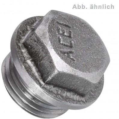 25 Verschlussschrauben M18 x 1,5mm - DIN 7604 Form A - verzinkt