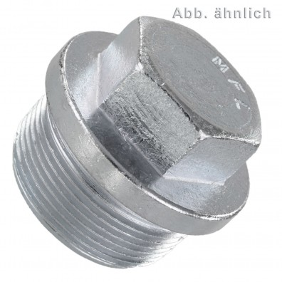 Verschlussschrauben - DIN 910 - zylindrisches Feingewinde - verzinkt