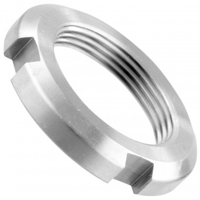 Nutmuttern mit Klemmring - DIN 70852 - Stahl