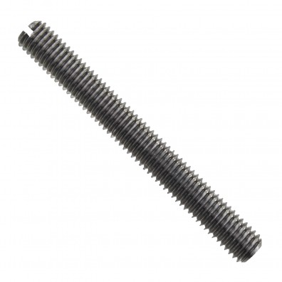 200 Gewindestifte mit Schlitz und Kegelkuppe DIN 551 M2,5 x 16 mm