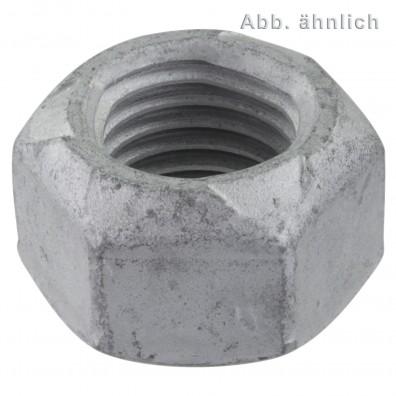 Sechskantmuttern DIN 980 - Form V - Festigkeitsklasse 8 - zinklamellenbeschichtet