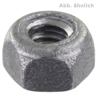Sechskantmuttern DIN 980 - Form M - feuerverzinkt - Festigkeitsklasse 8