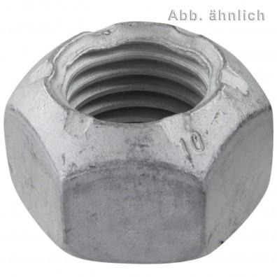 Sechskantmuttern DIN 980 - Form V - Festigkeitsklasse 10 - zinklamellenbeschichtet