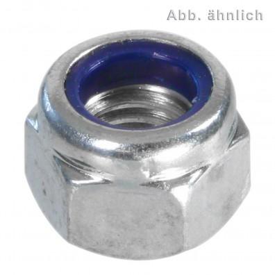 Sechskantmuttern DIN 6924 - galvanisch verzinkt - mit Klemmteil