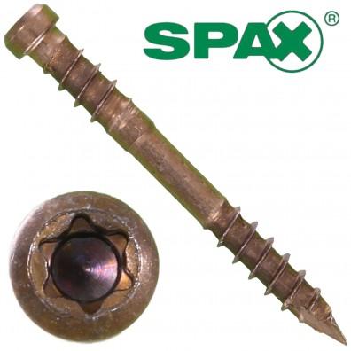 Spax® Terrassenschrauben - Edelstahl A2 - antik - Zylinderkopf - T-Star plus