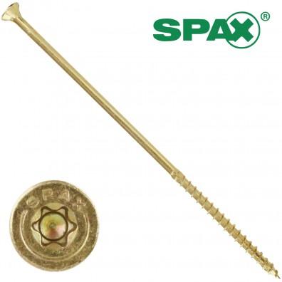 100 Spax(ABC) Spanplattenschrauben Senkkopf 4 CUT-Fräser TX gelb verz 6,0 x 180