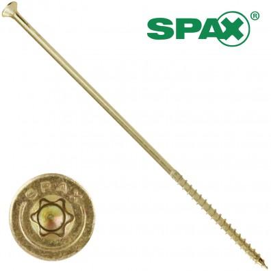 100 Spax(ABC) Spanplattenschrauben Senkkopf 4 CUT-Fräser TX gelb verz 6,0 x 200