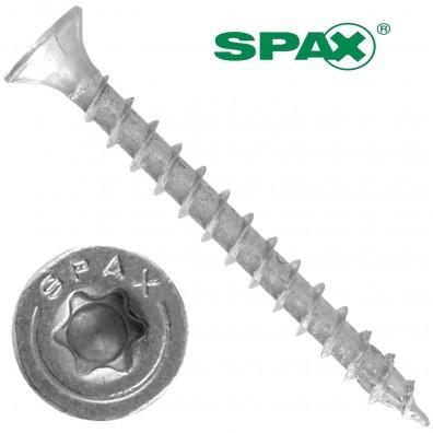 500 Spax(ABC)Spanplattenschrauben Senkkopf Torx galv verzinkt 5x50