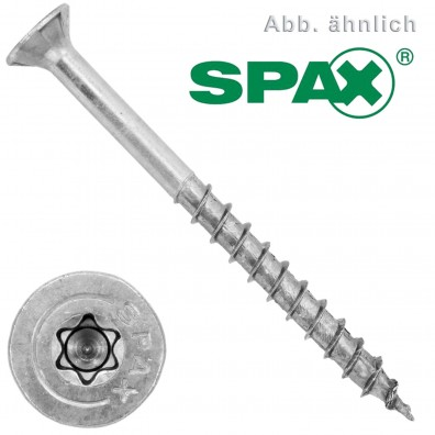 200 Spax(ABC) Universalschrauben A2 Senkkopf Torx 3,5 x 30