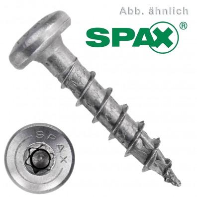 Spax(ABC) Universalschrauben - Edelstahl A2 - Torx Halbrundkopf