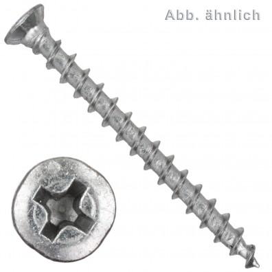 Spax(ABC) FEX-KS Beschlagschrauben - PH - Senkkopf - Silber